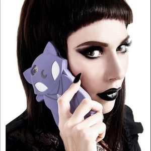 Killstar Accessories - killstar BELTANE PHONE COVER [LILAC] iphone 6+
